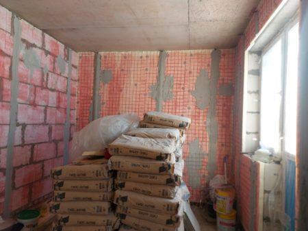 Подготовка основания бетоноконтактом
